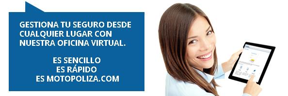 Oficina Virtual Motopoliza.com - las 24 horas.
