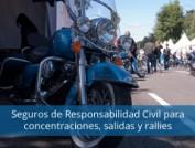 Seguros de Responsabilidad Civil para concentraciones, salidas y rallies
