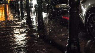 lluvia y seguro de coche